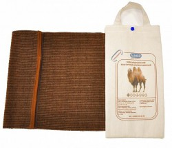 Пояс, р. 4 L (82-87см) согревающий из верблюжьей шерсти разъемный