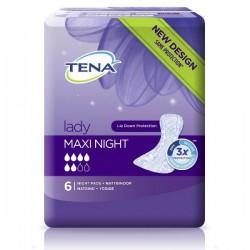 Прокладки урологические для взрослых, Тена леди №6 макси найт