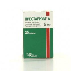 Престариум А, табл. п/о пленочной 5 мг №30