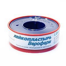 Лейкопластырь, Унипласт р. 1.25смх500см №1 прозрачный