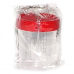 Контейнер-емкость для биоматериалов, 125 мл стерильный