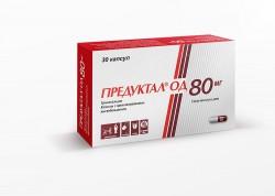 Предуктал ОД, капс. с пролонг. высвоб. 80 мг №30