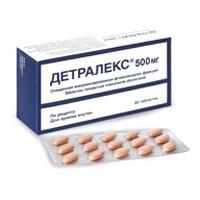 Детралекс, табл. п/о пленочной 500 мг №60