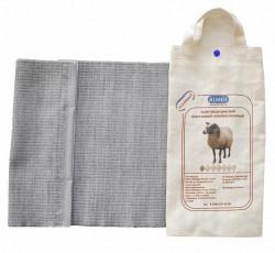 Пояс, р. 2 S (68-75см) согревающий из овечьей шерсти разъемный
