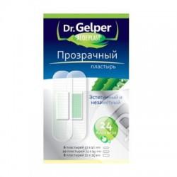 Пластырь, Др. Гелпер №24 алоэпласт прозрачный