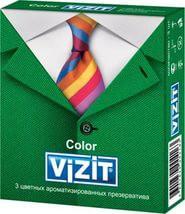 Презервативы, Визит №3 ароматизированные цветные