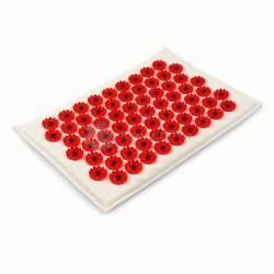 Иппликатор Кузнецова, р. 17смх28см тибетский на мягкой подложке красный